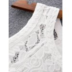 Sweet Mix Lace Pleated Women's Dress for sale