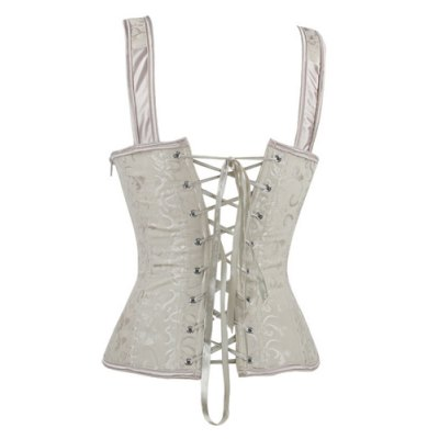 Fashionable V-Neck Slimming Corset For WomenCorsets &amp; Shapewear<br>Fashionable V-Neck Slimming Corset For Women<br><br>Material: Polyester<br>Pattern Type: Others<br>Embellishment: Criss-Cross<br>Weight: 0.238kg<br>Package Contents: 1 x Corset