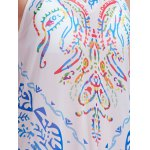 Fashion Halter Print Cut Out Maxi Dress For Women photo
