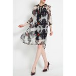 Silk Printed Dress With Cami Dress for sale
