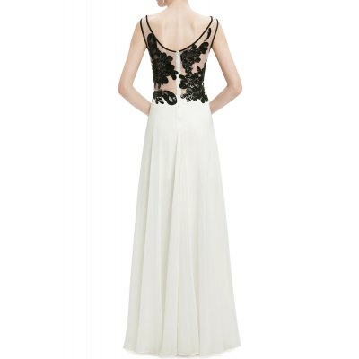 Scoop Neck Sequined Lace Splicing Maxi Prom DressDesigner Dresses<br>Scoop Neck Sequined Lace Splicing Maxi Prom Dress<br><br>Occasion: Formal<br>Material: Polyester<br>Composition: 100% Polyester<br>Dresses Length: Floor-Length<br>Neckline: Scoop Neck<br>Sleeve Length: Sleeveless<br>Embellishment: Lace<br>Pattern Type: Solid<br>With Belt: No<br>Season: Summer<br>Weight: 0.620kg<br>Package Contents: 1 x Dress
