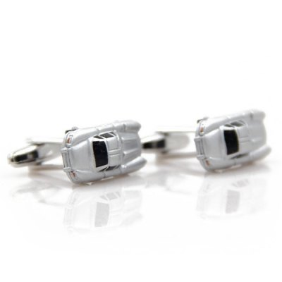 Pair of Stylish Personality Small Toy Car Shape Cufflinks For Men