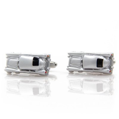 Personality Small Toy Chariot Car Shape Cufflinks For Men