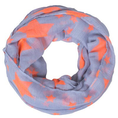 Stylish Various Five-Pointed Stars Print Voile Infinity Scarf For GirlsBaby Care<br>Stylish Various Five-Pointed Stars Print Voile Infinity Scarf For Girls<br><br>Scraf Type: Scarf<br>Scarf Length: 135-175CM<br>Group: Children<br>Gender: For Girls<br>Style: Fashion<br>Material: Polyester<br>Weight: 0.100kg<br>Package Contents: 1 x Scarf
