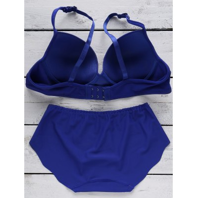 Simple Solid Color Seamless Women's Bra
