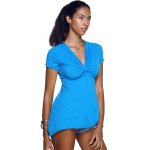 V-Neck Twist Asymmetric T-Shirt deal