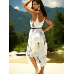 Printed Asymmetric Cami Summer Dress for sale
