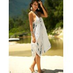 Printed Asymmetric Cami Summer Dress deal