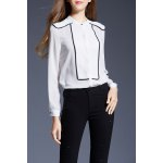 Fitted Button Up Chiffon Shirt deal