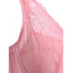 Refreshing Women's Laced Embroidery Padded Bra deal
