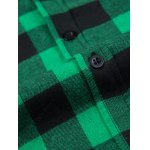 best Fashion Zipper Design Checked Waistcoat For Men