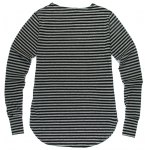 cheap Fashion Loose Fit Striped Long Sleeves T-Shirt For Men