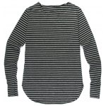 Fashion Loose Fit Striped Long Sleeves T-Shirt For Men