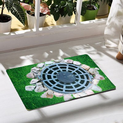 soft-1pcs-rectangle-anti-slip-mat-with-trap-pattern-doormat-carpet