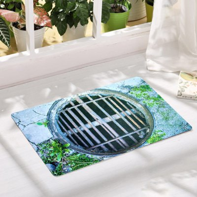 durable-soft-1pcs-rectangle-anti-slip-mat-trap-pattern-doormat-carpet