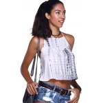Fashionable Cross Braces Tie-Dye Crop Top deal