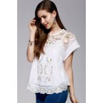 Cami Top and Retro Embroidery Blouse Twinset for sale