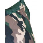 best Stylish Camo Cross Back Tankini Set For Women