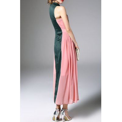 Embroidered Maxi Vintage DressDesigner Dresses<br>Embroidered Maxi Vintage Dress<br><br>Style: Swing<br>Occasion: Formal<br>Material: Polyester<br>Composition: 100% Polyester<br>Dresses Length: Ankle-Length<br>Neckline: Stand<br>Sleeve Length: Sleeveless<br>Embellishment: Embroidery<br>Pattern Type: Animal<br>With Belt: No<br>Season: Summer<br>Weight: 0.620kg<br>Package Contents: 1 x Dress