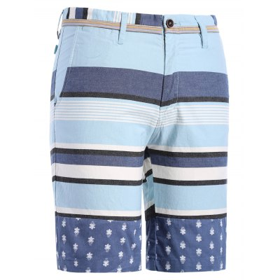 Classic Color Block Stripes Pattern Straight Leg Zipper Fly Shorts For MenMens Short Sleeve Tees<br>Classic Color Block Stripes Pattern Straight Leg Zipper Fly Shorts For Men<br><br>Style: Casual<br>Length: Short<br>Material: Cotton Blends<br>Fit Type: Regular<br>Waist Type: Mid<br>Closure Type: Zipper Fly<br>Front Style: Flat<br>With Belt: No<br>Weight: 0.410kg<br>Package Contents: 1 x Shorts