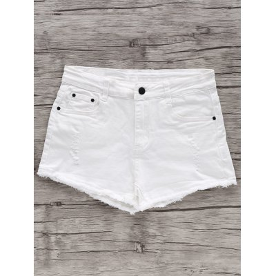 High Waisted White Shorts Online for Sale | GearBest.com