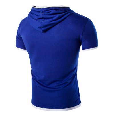 Hooded Solid Color Zipper Design Short Sleeve T-Shirt For MenMens Short Sleeve Tees<br>Hooded Solid Color Zipper Design Short Sleeve T-Shirt For Men<br><br>Material: Cotton,Polyester<br>Sleeve Length: Short<br>Collar: Hooded<br>Style: Casual<br>Weight: 0.275kg<br>Package Contents: 1 x T-Shirt<br>Pattern Type: Solid