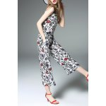 Print Tank Top and Wide Leg Pants for sale