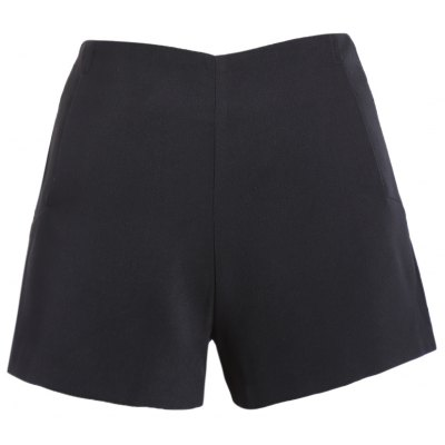 Solid Color Shorts For Women