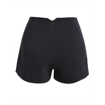 Stylish Solid Color Shorts For Women
