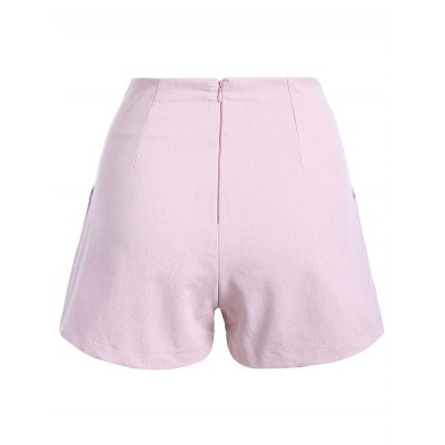Stylish Solid Color Palazzo Shorts For Women