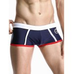 cheap Splicing Design Low Rise Swimming Trunks For Men