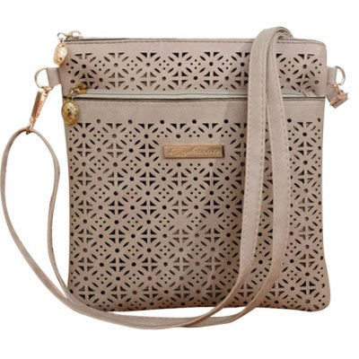 Hollow Out Design Crossbody Bag For Women