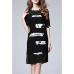 Cami Dress and Letter Print Dress deal