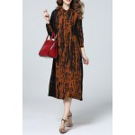 Long Sleeve Printed Shirt Dress deal