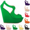 Fashionable Platform and Zipper Design Sandals For Women