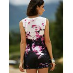 Casual Round Neck Tie-Dyed Women's Tank Dress deal