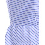 Sweetheart Neck Pinstripe Tank Top deal