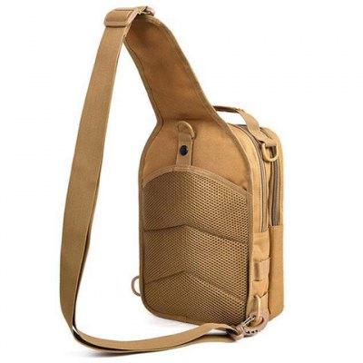 Casual Nylon and Zippers Design Messenger Bag For Men