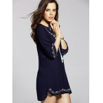 Ethnic Embroidered Women's Tunic Dress deal