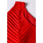 best Ruched High Low Dress