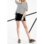 High Low Stripe Cotton Tee deal