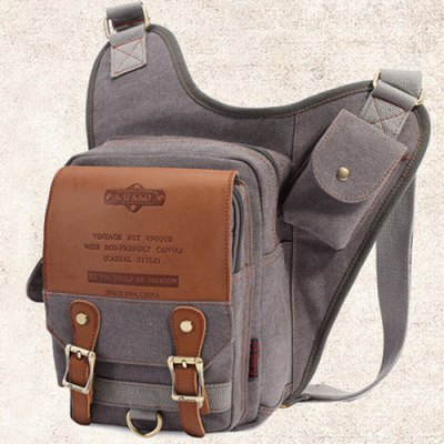 Vintage Zip and Canvas Design Messenger Bag For MenMens Bags<br>Vintage Zip and Canvas Design Messenger Bag For Men<br><br>Gender: For Men<br>Pattern Type: Solid<br>Closure Type: Zipper<br>Main Material: Canvas<br>Length: 34CM<br>Width: 9CM<br>Height: 36CM<br>Weight: 1.200kg<br>Package Contents: 1 x Messenger Bag