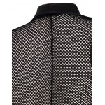 Casual Mesh See-through Waistcoat For Men deal