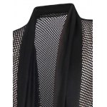 Casual Thin Mesh See-through Waistcoat For Men deal