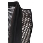 Casual Thin Mesh See-through Waistcoat For Men for sale