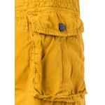 Cotton Solid Color Multi-Pockets Zipper Fly Straight Leg Shorts for sale