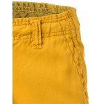 Cotton Solid Color Multi-Pockets Zipper Fly Straight Leg Shorts deal