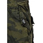 Cotton Camouflage Multi-Pockets Design Zipper Fly Straight Leg Shorts deal