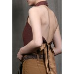 cheap Tie Back Backless Halter Top