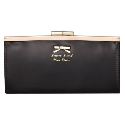 Bow Design Clutch Wallet For Women